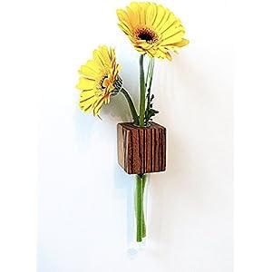 Magnetvase Zebrano Blumenvase