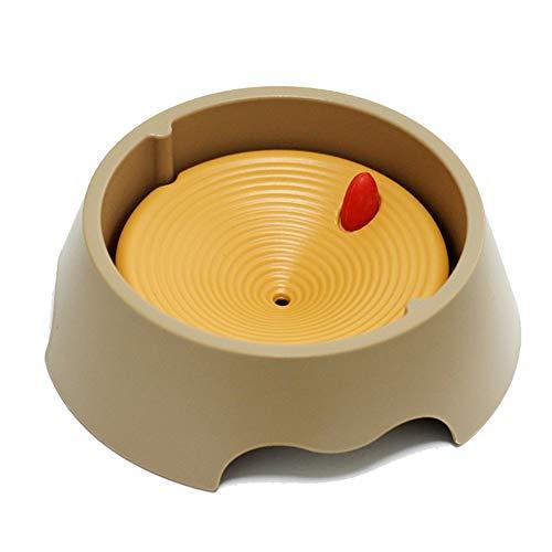 VFNVKNJKNK Hundenapf ohne nassen Mund automatische wasserspender schwimmenden schüssel Splash -A