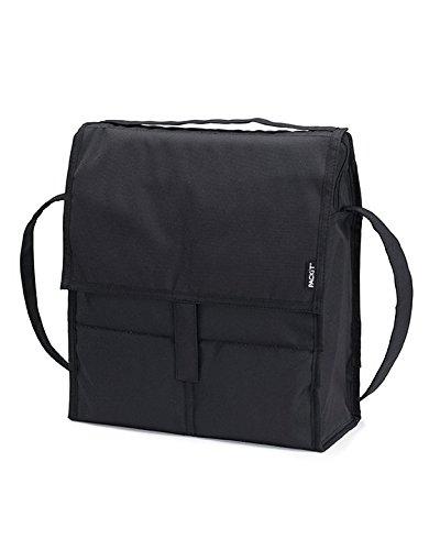 pack-it PackIt PKT-SC-BLA Picknick-Kühltasche, schwarz (Freezable Wasser Flasche)