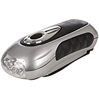 Silverline 839905 LED Wind-Up Torch 15 Lumens