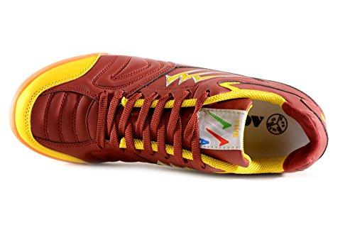 Agla Professional Chaussures de marche Futsal Anti-chocs F/40 BURGUNDY/YELLOW