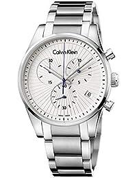 Calvin Klein Reloj Cronógrafo para Hombre de Cuarzo con Correa en Acero  Inoxidable K8S27146 1ade60fc994f
