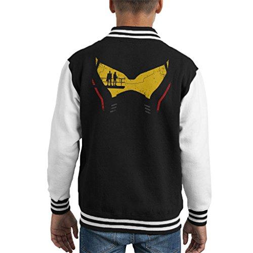 Pacific Rim Jaeger Head Kid's Varsity Jacket