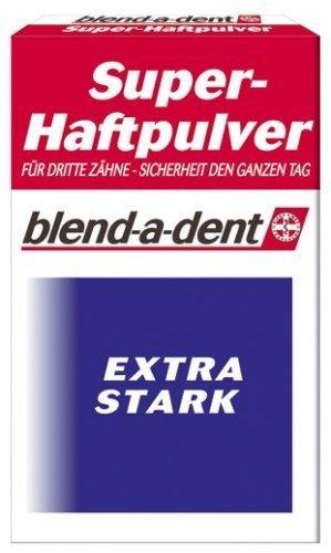 blend-a-dent Super Haftpulver extra stark 50g für die Dritten Zähne