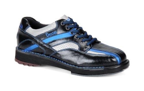 Dexter SST 8 SE Chaussures de bowling pour homme noir noir - Blanc/Argent