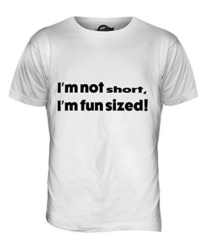 CandyMix I Am Not Short T-Shirt da Uomo Maglietta Bianco