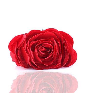 WZW Donna Poliestere Formale / Casual / Serata/evento / Matrimonio / Ufficio e lavoro / Shopping Borsa da sera . beige red