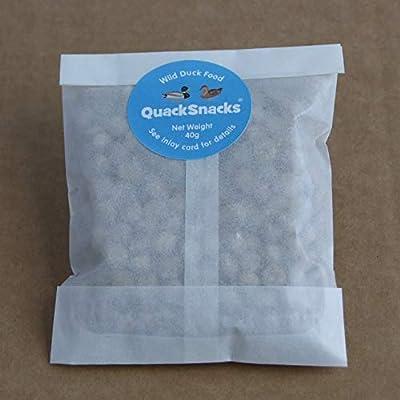 Quack Snacks Wild Duck Food Pellets (6 Packs) by Quack Snacks