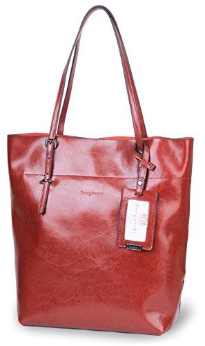 Borgasets ,  Mädchen Damen Tasche rot