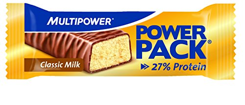 Multipower Power Chocolate Con Leche Barras Nutritivas   24 Barras