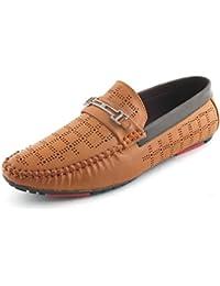 Albertiano Krispilo Men Loafer (Tan Color)