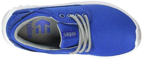 Etnies Unisex-Kinder Scout Sneaker, Rot Blau (Blue/Grey433)