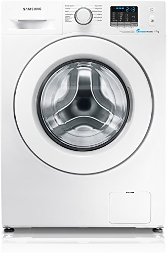 Samsung WF70F5E0Q4W/EG Waschmaschine Frontlader / A+++ / 173 kWh / Jahr / 9400 Liter / Jahr / 1400 UpM / 7 kg / weiße Tür Standard