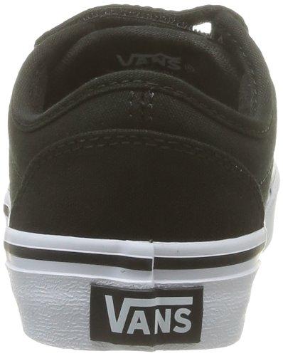 Vans Y Atwood V, Baskets mode mixte enfant Noir (Black/White)
