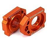 Motorrad Hinterachse Blöcke Kettenversteller CNC Für SX85 03-14 EXC EXCF XCW XCFW 125-530 SX SXF XC XCF 125-450