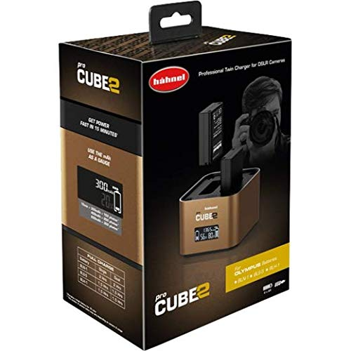 Hahnel ProCube2 Olympus Auto/Indoor battery charger Marrone
