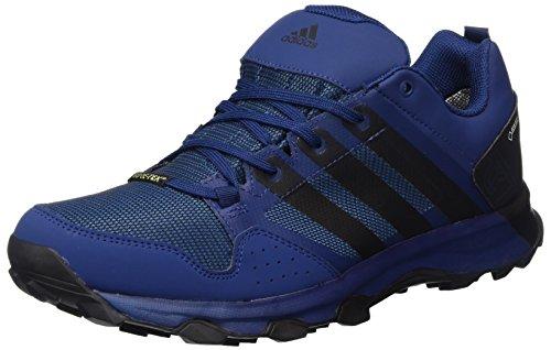adidas Kanadia 7 Tr Gtx, Zapatillas de Running Para Asfalto Hombre, Azul (Mystery Blue/Core Black/Core Blue), 42 EU