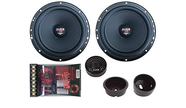 Audio System X 130 Em Evo 2 Lautsprecher 13cm 2 Wege Easy Mounting Compo System Audio Hifi