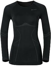 ODLO Evolution - Camiseta para mujer, tamaño S, color negro