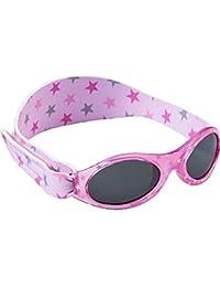 The Original Dooky - Gafas de sol para niño de 0 a 2 años con protección UV 100%, ajustables y resistentes Rosa