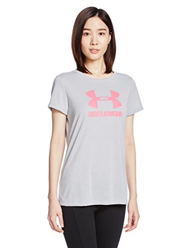 Under Armour 2017 Femmes Heatgear Threadborne Sportstyle Twist Crew Training Chemise de Sport Grey