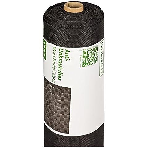 GardenMate® 1m x 50m Rotolo Telo Pacciamatura