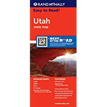 Rand McNally Utah State Map