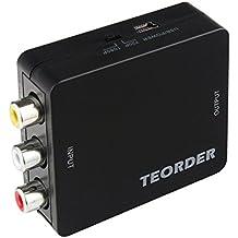 teorder RCA/AV/CVBS composito al convertitore HDMI Full HD 720P/1080P con