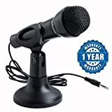 SmartTech Microphone for Desktop/Laptop/Computer/PC (NET KTV/AUX)