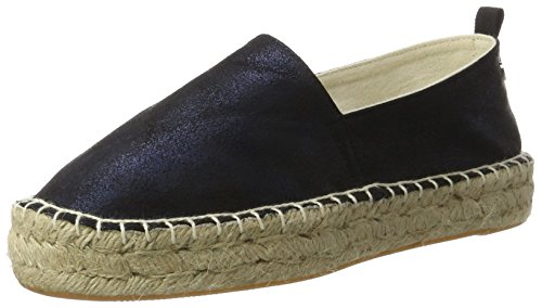 Xti Navy Metallic Ladies Shoes ., Espadrilles femme Bleu Marine