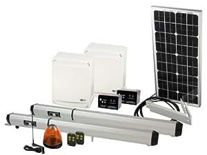 motorisation portail solaire ka v252 avec panneau solaire et batteries rechargeables. Black Bedroom Furniture Sets. Home Design Ideas