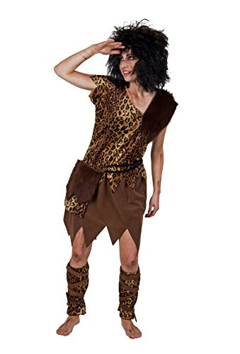 Karnevalkostüm Steinzeit-Frau - Kostüm Höhlenmensch Frau