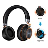 Best Auriculares Bluetooth del teléfono celular - Auriculares Bluetooth Diadema ELEGIANT Headset inalámbricos wireless 4.1 Review
