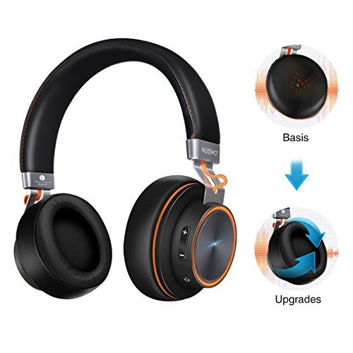 Foto Cuffie Bluetooth, ELEGIANT Auricolare Headset Wireless per PC iphone XS XS...