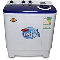 Nikai Twin tub Washing Machine 7Kg NWM700SPN20 - White and Navy