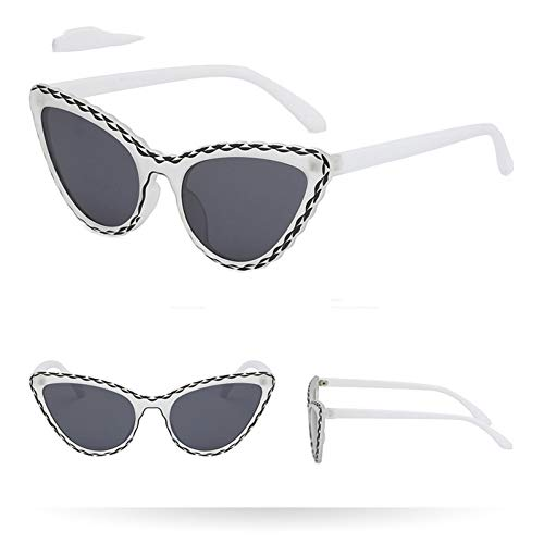 GBST Women's Sunglasses cat Eye Eyewear Female Retro Sunglasses Ladies Eyeglasses,A3