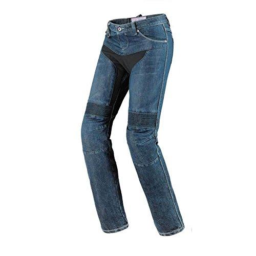 Spidi Furious Denim Damen Motorrad Jeans 29 Blue Stone Waschung