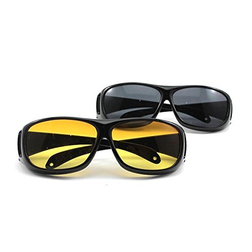 Velkro New Day & Night HD Vision Goggles Anti-Glare Polarized Sunglasses Men/Women Driving Glasses Sun Glasses UV Protection car Drivers