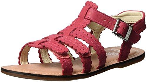 Clarks Mädchen Loni Moon Jnr Römersandalen, Pink (Pink Leather), 33 EU