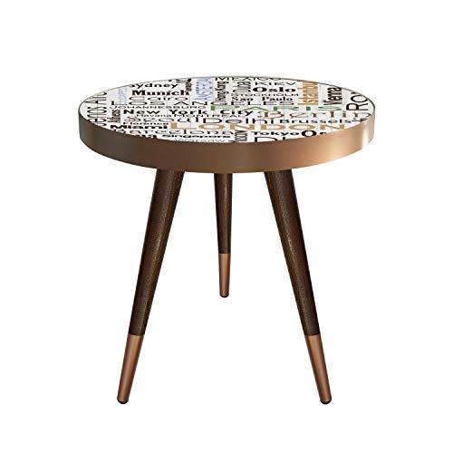 Beistelltisch Couchtisch Nachttisch Nierentisch Coffee Table Tisch Telefontisch Wohnzimmertisch...