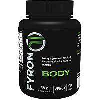 FYRON Body Premium, metabolismo, sin aditivos, 100% vegetariano y vegano