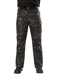 Amazon.es  Rojo - Pantalones   Hombre  Ropa 4b59d3460945