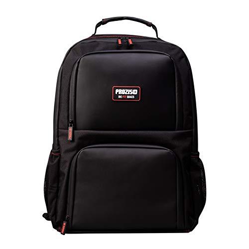 Prozis befit backpack 2.0 blac- borsa frigo isotermica fitness per i pasti, mantiene caldo e freddo, ottimo per qualunque dieta, capacità 32 l, nero