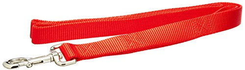 Artikelbild: Coastal Pet Products DCP904HRED Nylon Loops 2 Double Handle Dog Leash, 1-Inch by 4-Feet, Red by Coastal Pet