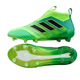 Ace 17+ Pure Control FG Football Boots - Solar Green/Core Black/Core Green - Size 9