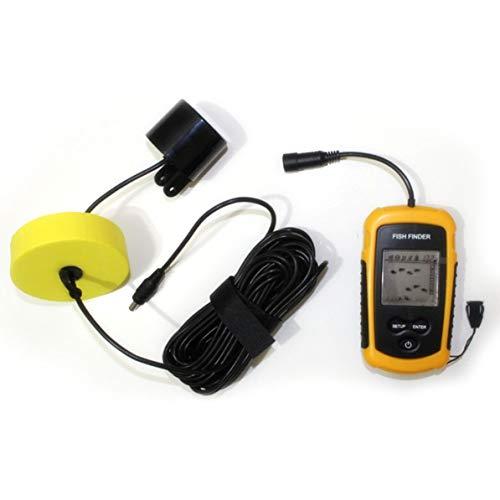 DoMoment 100 mt tragbare ultraschalldraht Fisch Finder detektor Sonar LCD Angeln Jagd Echo Sounder Angeln Finder Radar wandler -