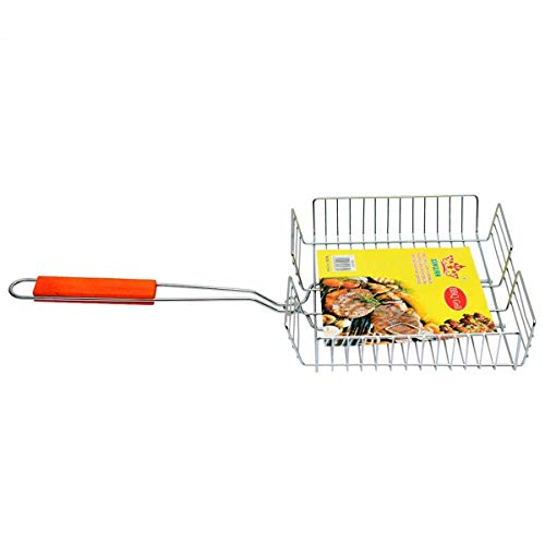 Heavy-Base-Stainless-Steel-Barbecue-BBQ-Grill-Pan-with-Wooden-Handle
