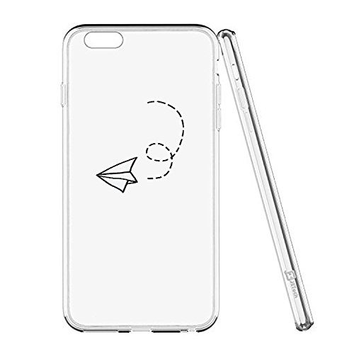 iPhone 6 Plus Case Cover Qissy® TPU iPhone 6 PLUS/ 6s Plus 5.5 Custodia coperchio trasparente per la copertura della cassa silicone Back cover Per Apple i Phone 6plus/6S plus 1