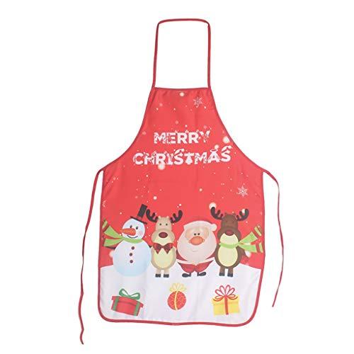 Ping Pong Ball Kostüm - Ears Weihnachtsschürze Weihnachtsdruck Schürze Weihnachten Cartoon