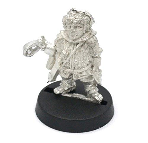 Stonehaven Männlicher Halfling Soldat mit Schlinge Miniaturfigur (für 28 mm große Tischspiele)